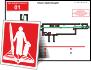 Шаблоны для разработки планов эвакуации векторные, профессиональные.